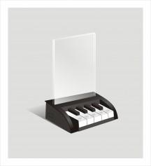 钢琴点餐台